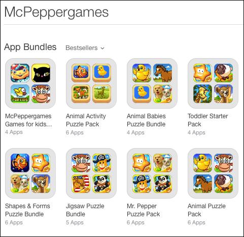 McPeppergames App Bundles