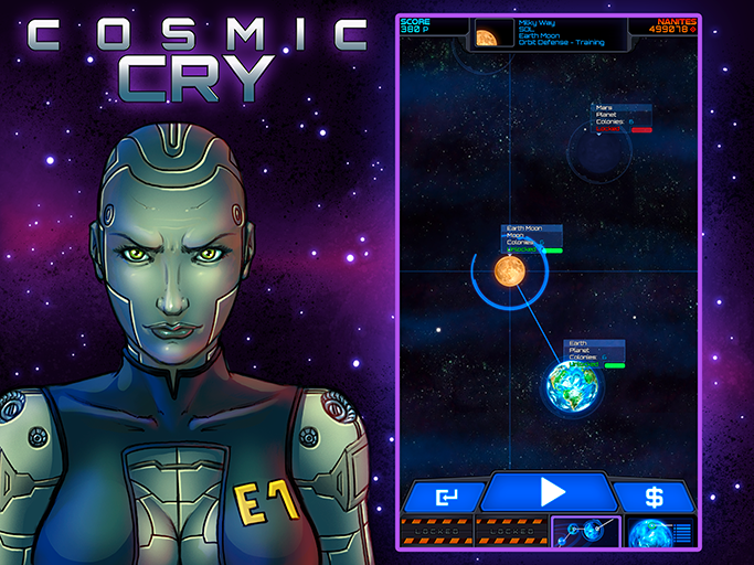 Cosmic Cry - Tower Defense TD screen 2