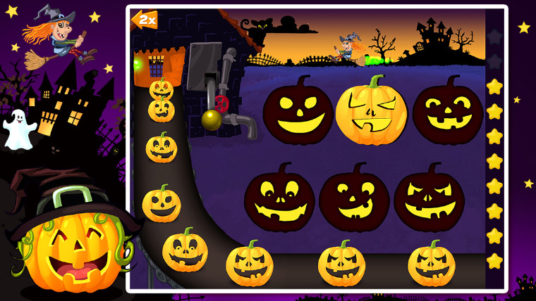 Halloween Shapes for Babies in the App Store!