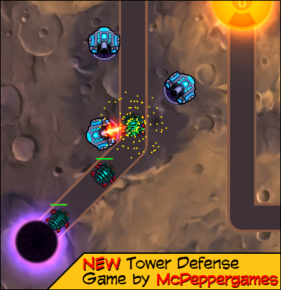 Upcoming Tower Defense Game